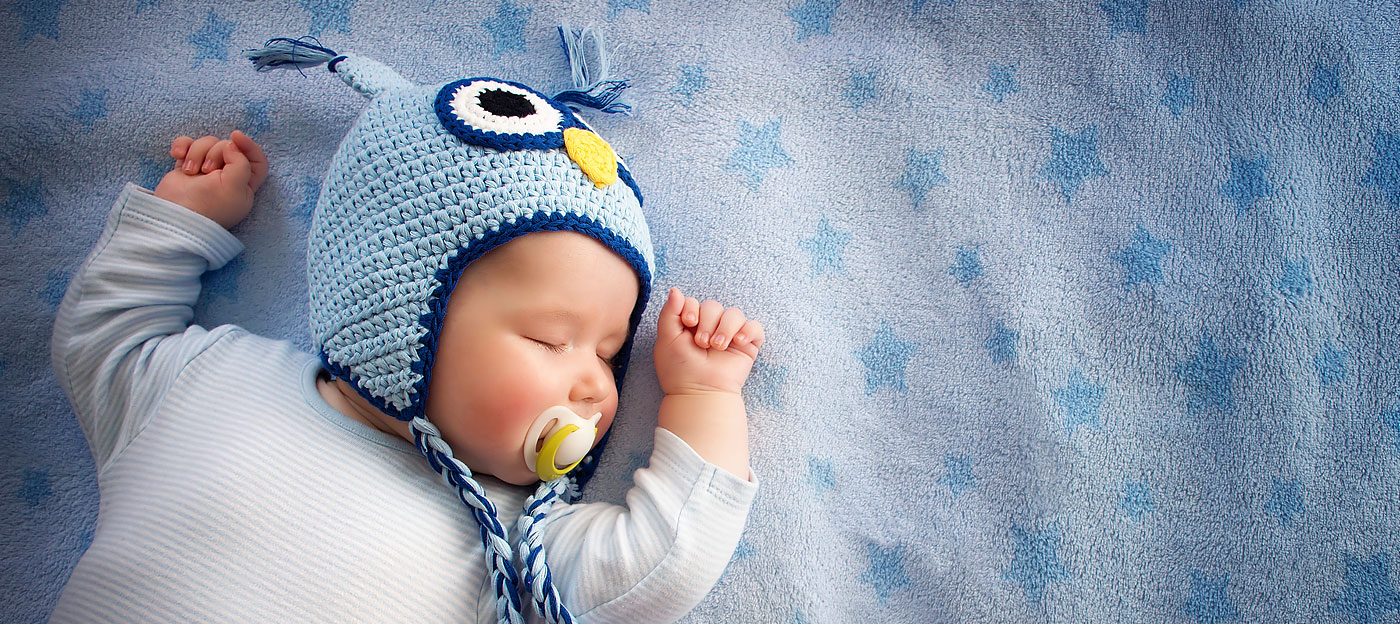 Baby with Blue Hat